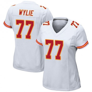 Women's Nike Kansas City Chiefs Andrew Wylie Jersey - White Game