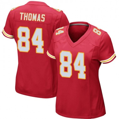 Women's Nike Kansas City Chiefs De'Anthony Thomas Team Color Jersey - Red Game