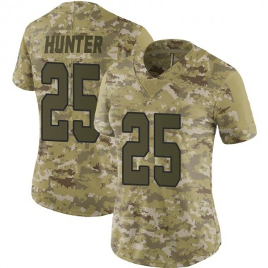 Women's Nike Kansas City Chiefs Michael Hunter 2018 Salute to Service Jersey - Camo Limited
