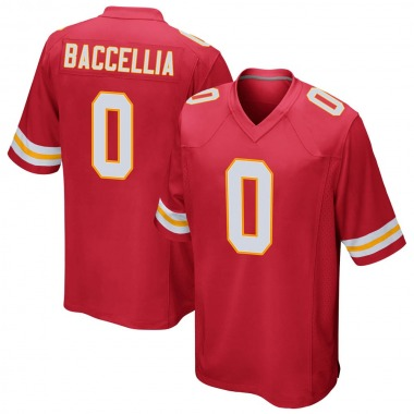 Youth Nike Kansas City Chiefs Andre Baccellia Team Color Jersey - Red Game