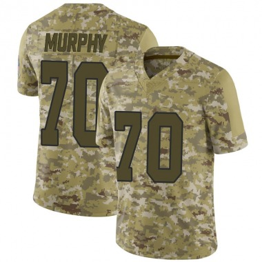 Youth Nike Kansas City Chiefs Pace Murphy 2018 Salute to Service Jersey - Camo Limited